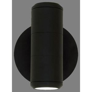 Summerside Matte Black 7-Inch One-Light Outdoor Sconce 60W