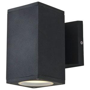 Summerside Matte Black 6.5-Inch One-Light Outdoor Sconce