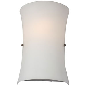 Kelowna Half Opal Glass Two-Light Wall Sconce