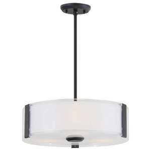 Zurich Graphite 20-Inch Three-Light Pendant