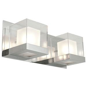 Narvik Chrome Two-Light Vanity
