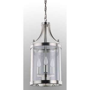Niagara Chrome Three-Light Pendant