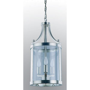 Niagara Satin Nickel Three-Light Pendant