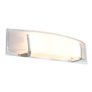 Hyperion Chrome Three-Light Vanity