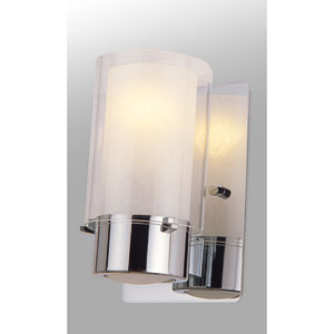 Essex Buffed Nickel 8-Inch One-Light Wall Sconce
