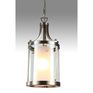 Essex Buffed Nickel 10-Inch One-Light Pendant