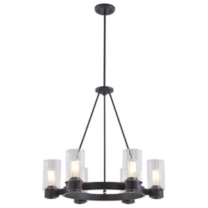 Essex Special Edition Graphite Six-Light Chandelier
