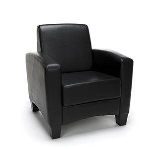 Black Traditional Arm Chair
