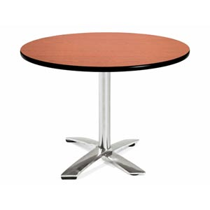 42-Inch Folding Multi-Purpose Round Cherry Table