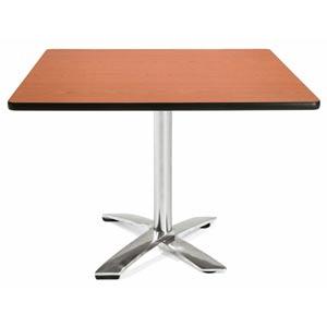42-Inch Square Folding Multi-Purpose Cherry Table