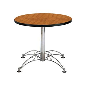 Oak 36-Inch Round Office Table
