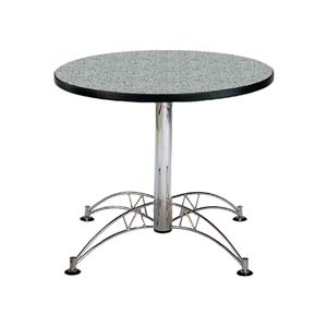 Gray Nebula 36-Inch Round Office Table