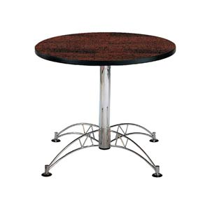 Mahogany 36-Inch Round Office Table