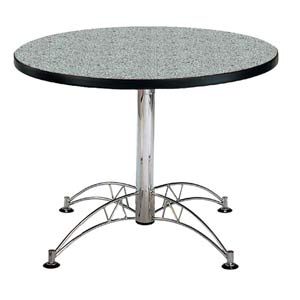 Gray Nebula 42-Inch Round Office Table