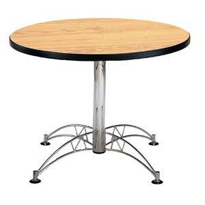 Oak 42-Inch Round Office Table