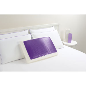 Hydraluxe Wave Purple Standard Gel Bed Pillow
