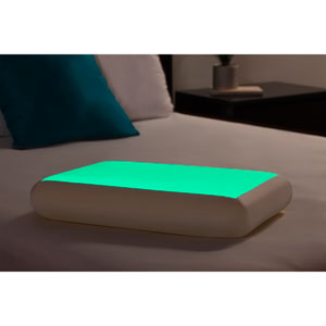 Green Glow in the Dark Petite Bed Pillow
