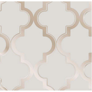 Marrakesh Bronze Gray Removable Wallpaper