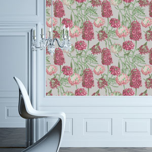 Hydrangea Blush Removable Wallpaper