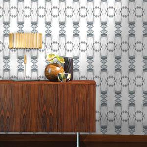 Kaleidoscope Zinc Removable Wallpaper