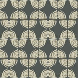 Genevieve Gorder Urban Caterpillar Angel White Removable Wallpaper