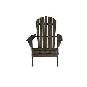 Villeret Dark Brown Adirondack Chair