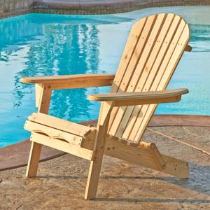 Villeret Natural Adirondack Chair