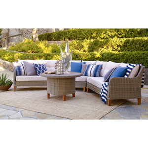 Sorrento 4 Piece Sectional Set