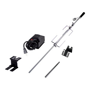 Universal Deluxe Rotisserie Kit For Grills