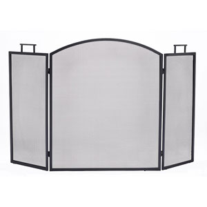 Pleasant Hearth Black Classic Fireplace Screen