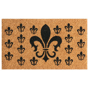 French Coat of Arms 24 x 57-Inch Doormat