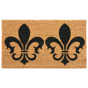 The Clovis Legend 24 x 57-Inch French Provincial Doormat