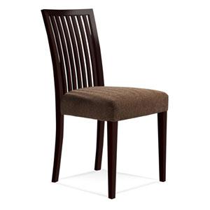 Skyline Impression Side Chair in Walnut Finish