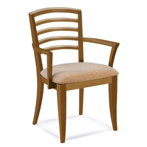 Peter Francis Impression Arm Chair in Flax Finish