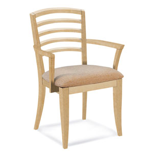 Peter Francis Impression Arm Chair in Natural Finish