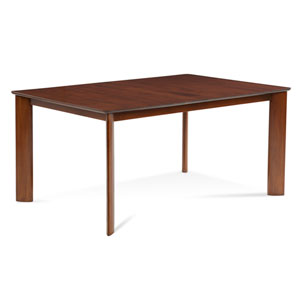 Ari 42 x 60-Inch Chocolate Extension Dining Table