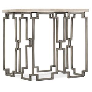 Emmeline Beige End Table