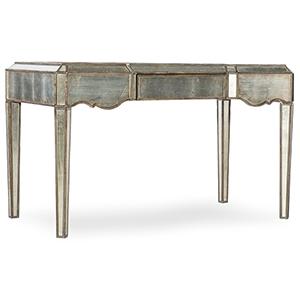 Arabella Silver Mirrored Writing Desk
