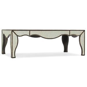 Arabella Silver Mirrored Cocktail Table