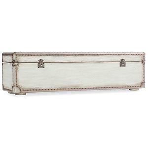 Arabella White Storage Bench
