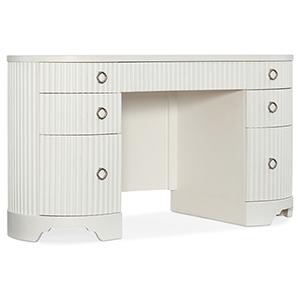 Modern Romance White Writing Desk