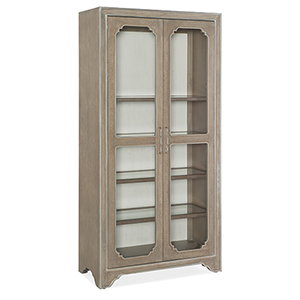 Modern Romance Medium Wood Display Cabinet