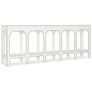 Modern Romance White Console Table