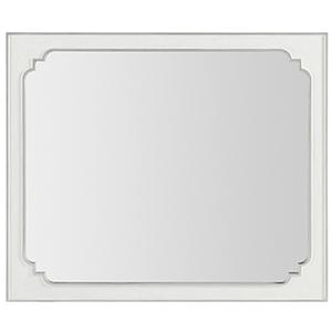 Modern Romance White Landscape Mirror