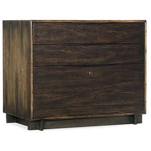 Crafted Dark Wood Lateral File