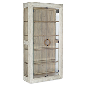 Amani White Display Cabinet