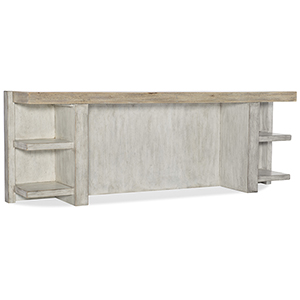 Amani White Console Table