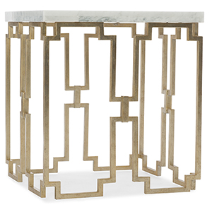 Evermore Gold End Table