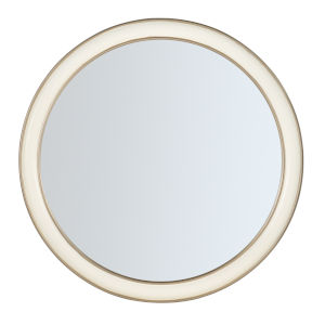 Melange Champagne 36 x 36 Inch Mirror