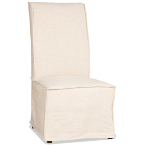 Decorator Chairs Beige 22-Inch Armless Dining Chair